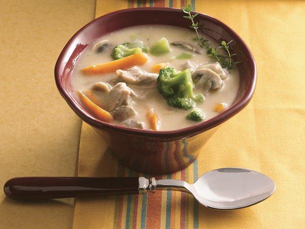 Slow Cooker Chicken-Vegetable Chowder