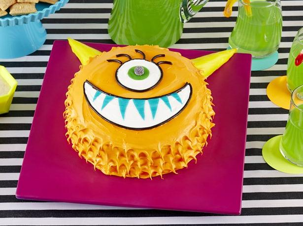Silly Monster Cake