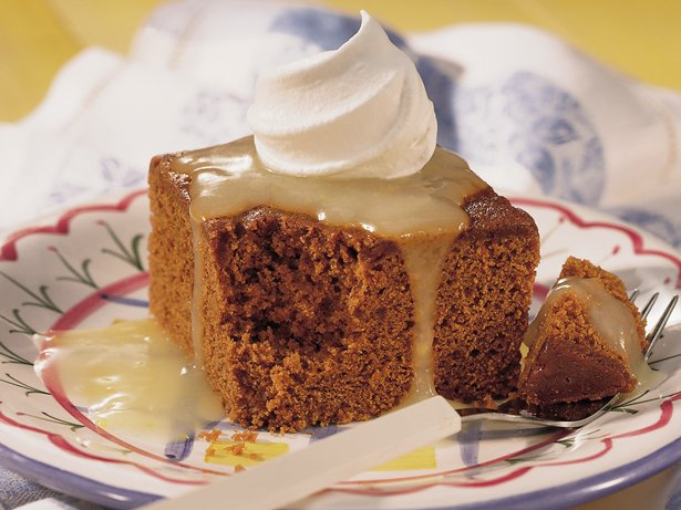 Lemon-Topped Gingerbread