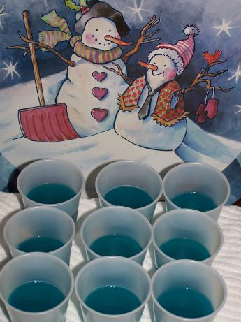 Baja Blue Jello Shots