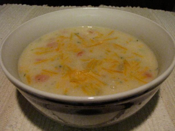 Colorful Potato Soup
