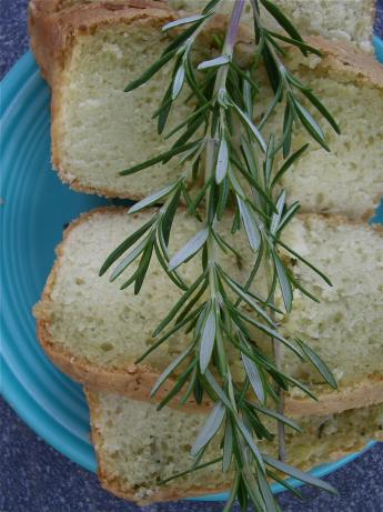 Olive Oil and Fresh Rosemary Cake