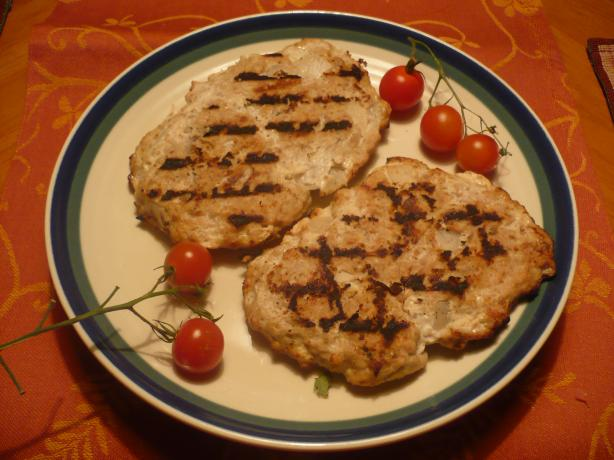 Grilled Turkey Burger