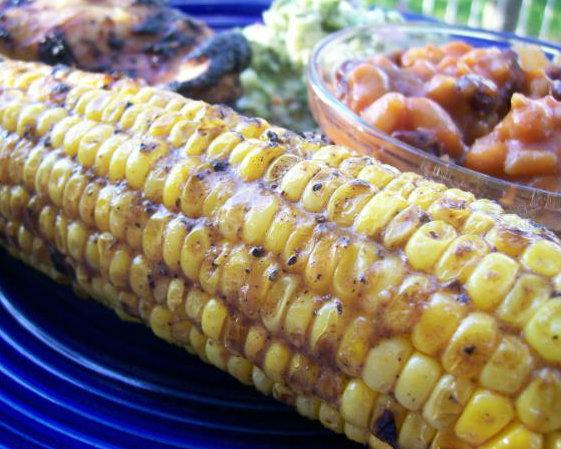Grilled Corn With Cumin and Lime