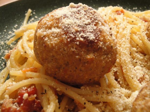 Italian Tofu Meatballs