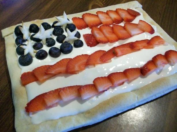 American Celebration Tart