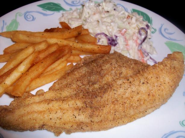 Cornmeal Crusted Oven Fried Catfish (Ww Core)