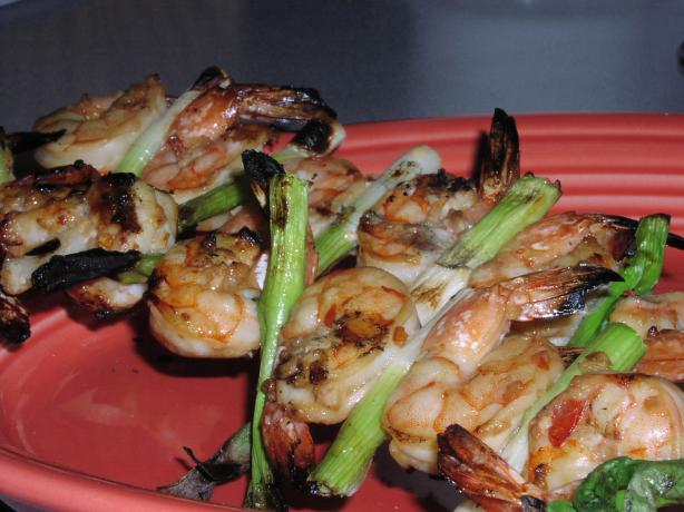 Garlic Skewered Shrimp