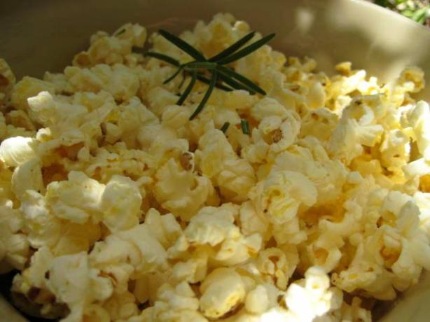 Orange Rosemary Popcorn