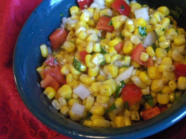Family Friendly Corn Salad