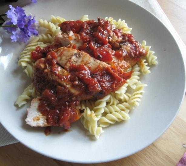 Skillet Chicken With Tomatoes