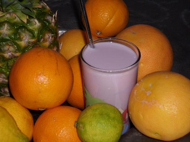 Grape Frost Beverage