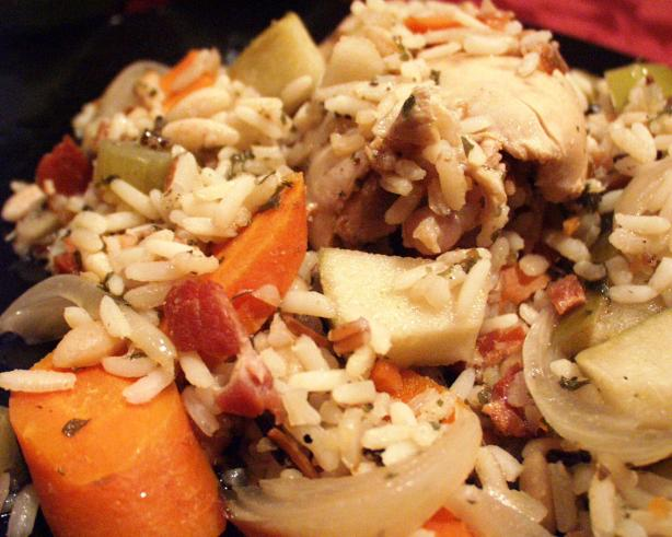 Autumn Chicken and Rice