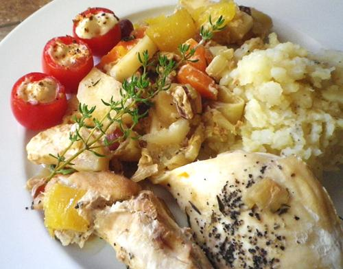 Autumn Chicken With Harvest Vegetables