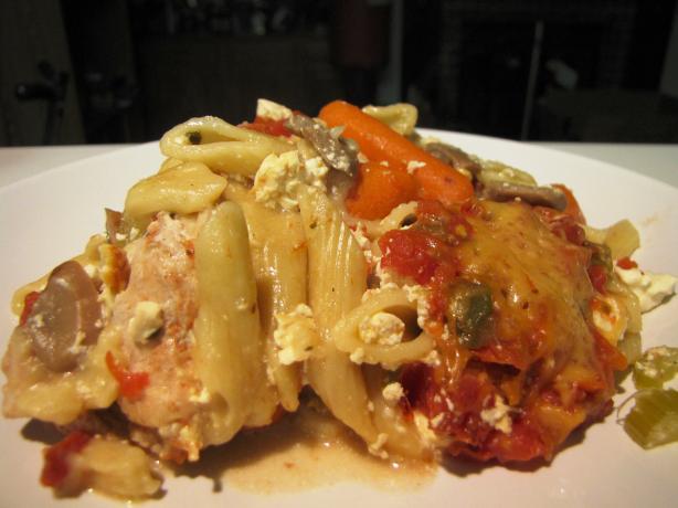 Slow Cooker Chicken Lasagna