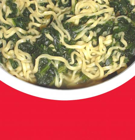 Easy Spinach & Ramen