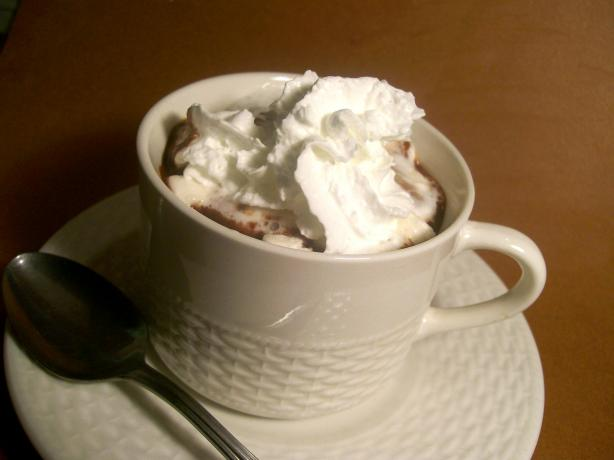 Java-Splashed Hot Chocolate