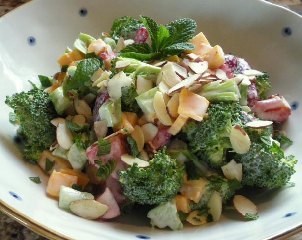 Strawberry and Broccoli Salad