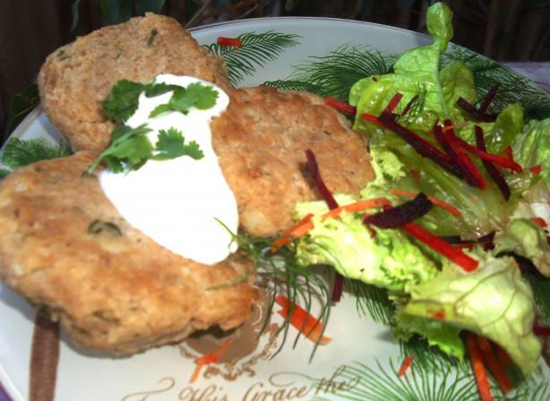 Moroccan Tuna Patties
