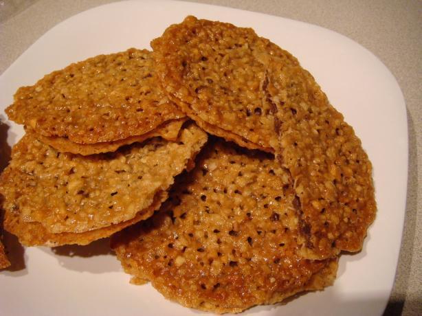 Amaretto Florentine Cookies