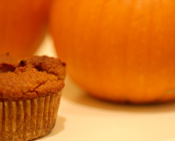 Gluten Free Pumpkin Pie Muffins