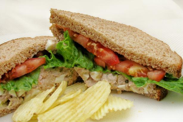 Bill Clinton's Tuna Salad Sandwich