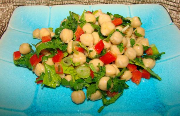 Quick Chickpeas Salad