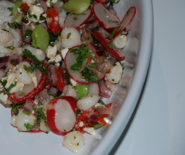 Peruvian Sarsa Salad