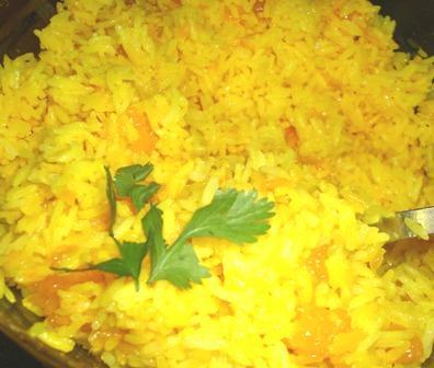 Mandarin Turmeric Rice