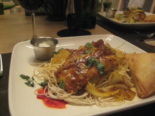 Curry Madras Chicken