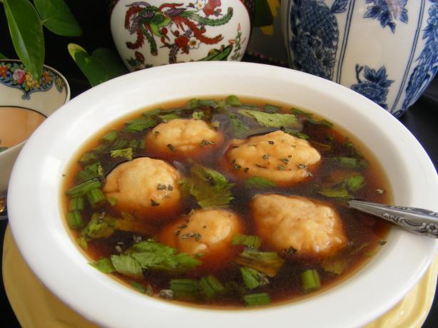 Beef and Dumpling Soup