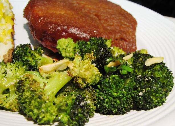 Parmesan-Roasted Broccoli(Ina Garten)