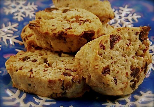 Freezer Date Cookies