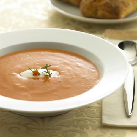Tomato Soup With Chavrie