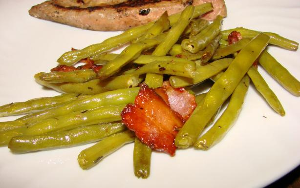 Brown-Sugar-Glazed Green Beans