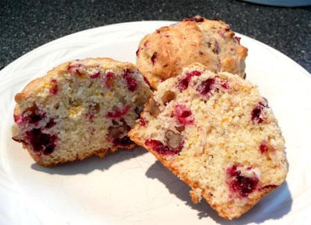 Wild Cranberry Orange Muffins