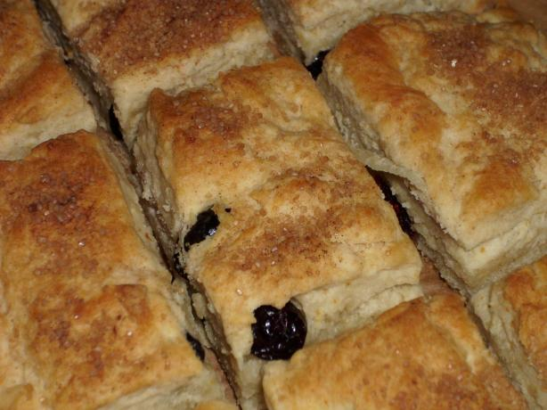 Dried Cranberry Biscuits