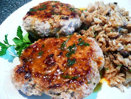 Abba's Ginger Turkey Burgers