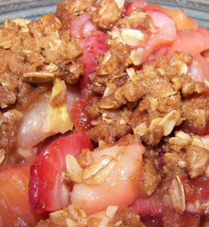 Oatmeal Fruit Crisp