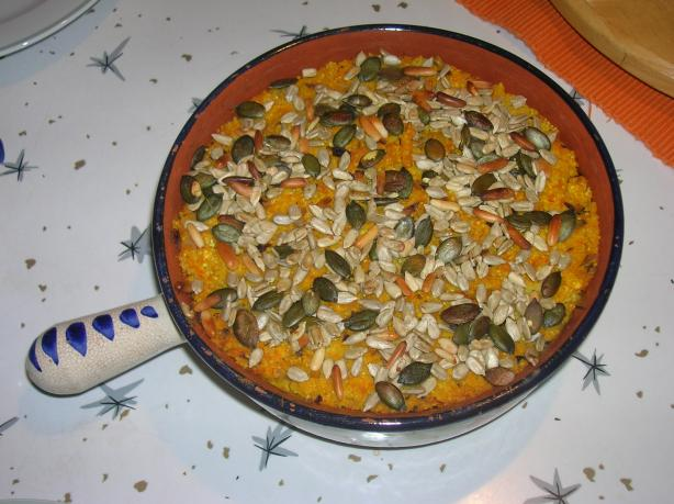 Millet-Ricotta-Cake With Pumpkin