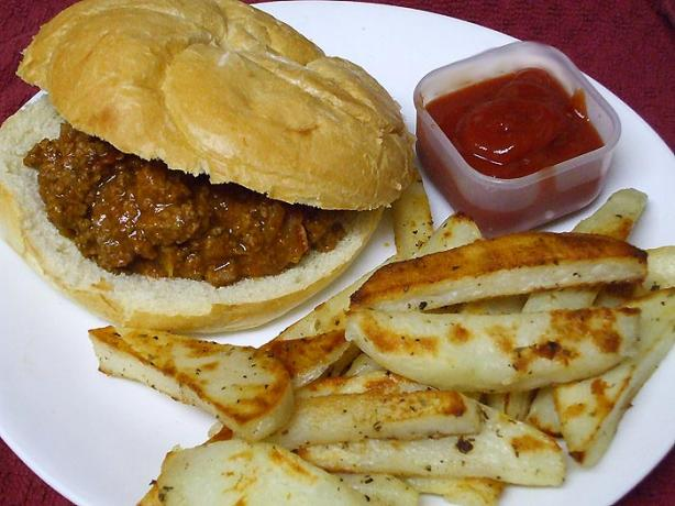 Kitchen Sink Sloppy Joes