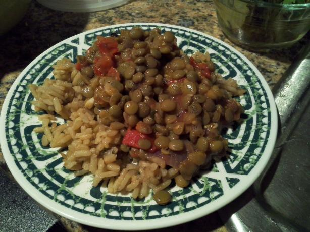 Italian Beans and Rice