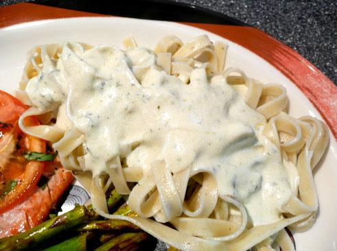 Herbed Goat Cheese Sauce