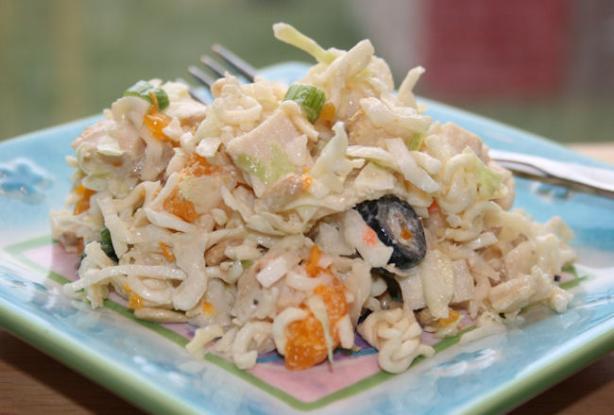 Chicken & Noodle Slaw