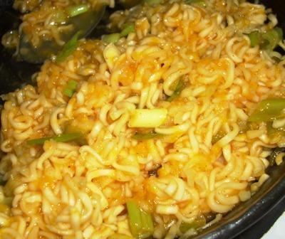 Spicy Mandarin Noodles