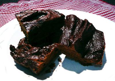 Martha Stewart's Guilt-Free Brownies