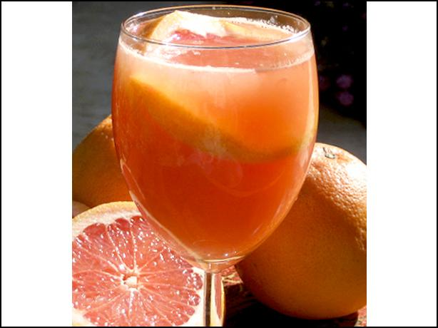 Pink Grapefruit Cordial