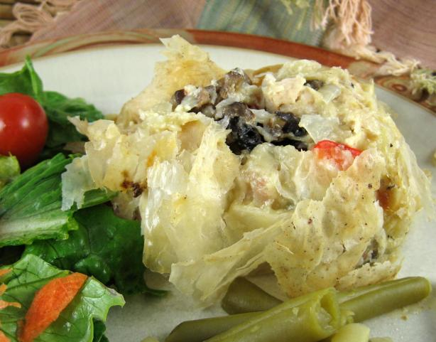 Phyllo Chicken Roll OAMC