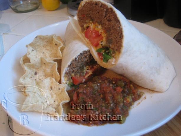 Ground Beef Burritos