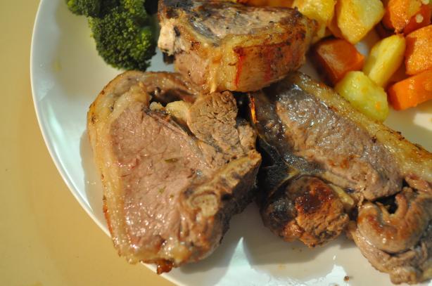 Lamb Chops With Lemon and Basil